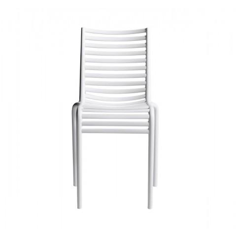 Chaise PIP-E de Driade, Blanc
