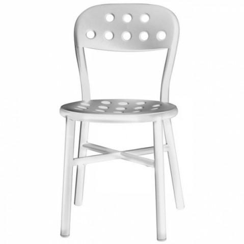 Chaise PIPE de Magis blanc