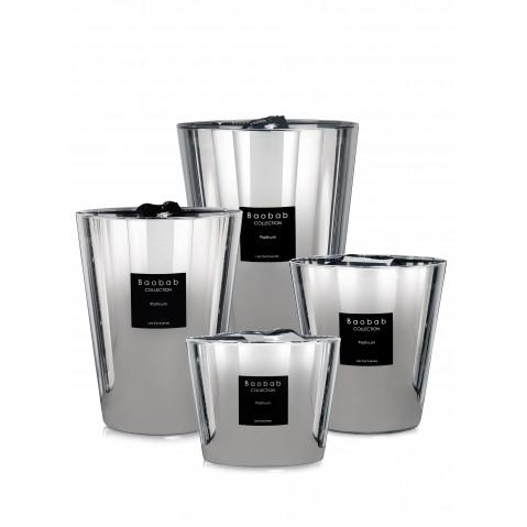 Bougie Tailles Collection4 Platinum De Baobab nOk8PXw0