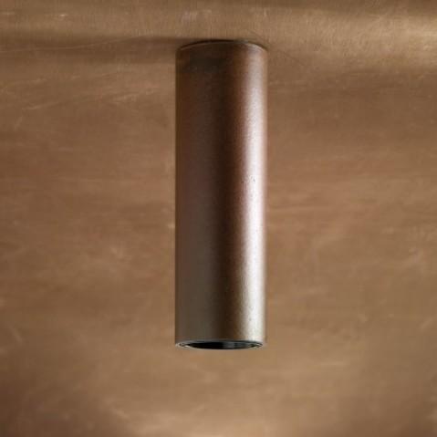 Plafonnier Nautic TUBE CEILING laqué en bronze