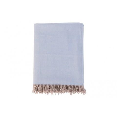 Plaids Mala bleu ciel de Flamant, Bleu