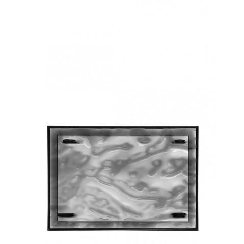 Plateau DUNE de Kartell, Fumé, L.46 X H.2.5 X P.32