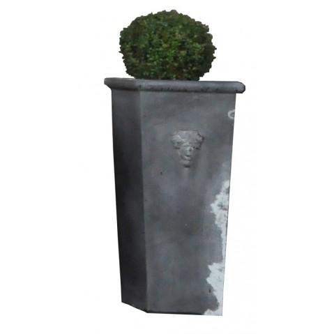 Pot en zinc Nova Zagora modèle haut