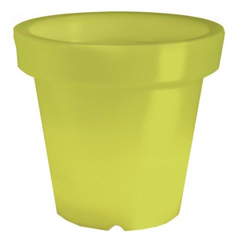 Pot lumineux BLOOM ! H.100 cm lime