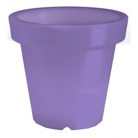 Pot lumineux BLOOM ! H.100 cm violet