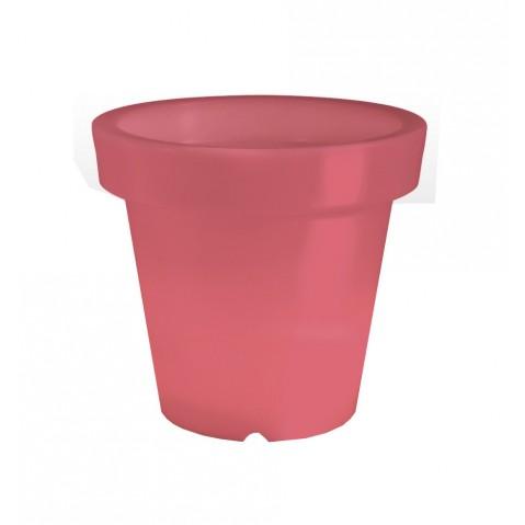 Pot lumineux BLOOM ! H.60 cm rouge