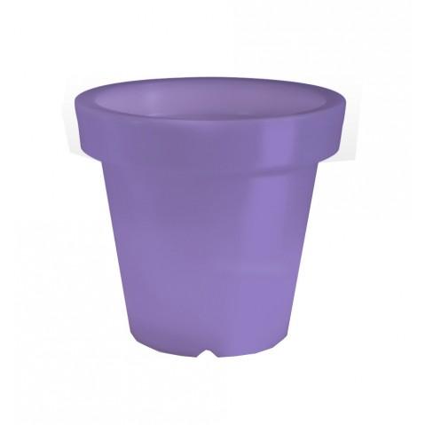 Pot lumineux BLOOM ! H.60 cm violet