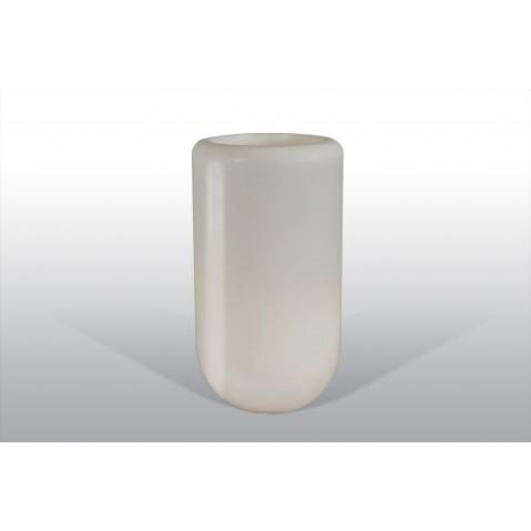 Pot lumineux Bloom Pill H.70 cm gris