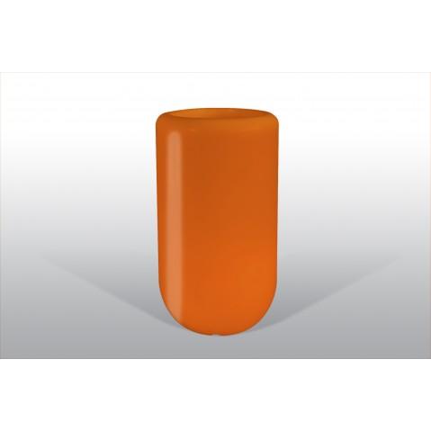 Pot lumineux BLOOM Pill H.90 cm orange