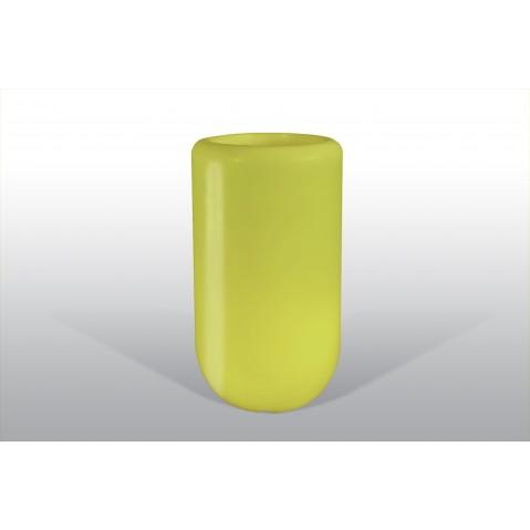 Pot lumineux BLOOM Pill H.90 cm vert lime