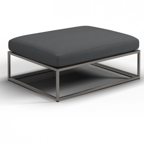 Pouf CLOUD de Gloster, 75x100, Anthracite
