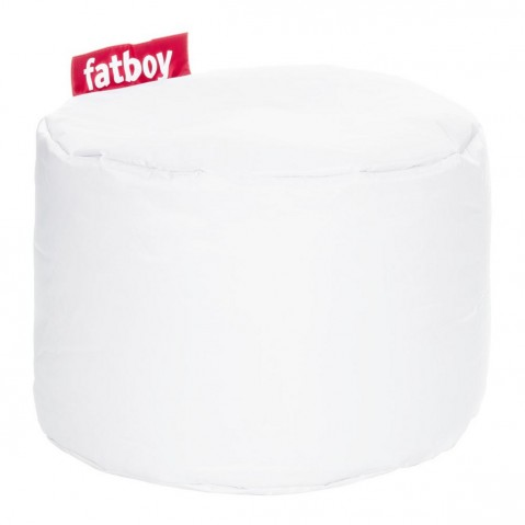 POUF POINT de Fatboy, Blanc