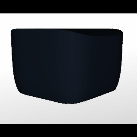 Pouf/Table d'appoint -TRANSLATION OTTOMAN Qui est Paul Noir