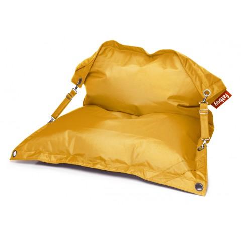 Pouf THE BUGGLE-UP de Fatboy, jaune ocre