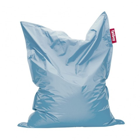 Pouf THE ORIGINAL INDOOR de Fatboy bleu glace