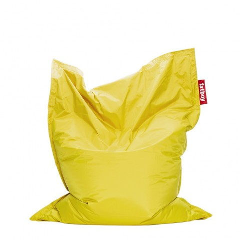 Pouf THE ORIGINAL INDOOR de Fatboy jaune