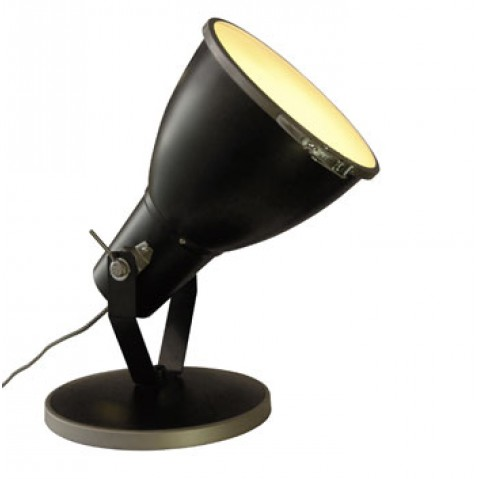 lampes poser int rieures projecteur stirrup de btc noir. Black Bedroom Furniture Sets. Home Design Ideas