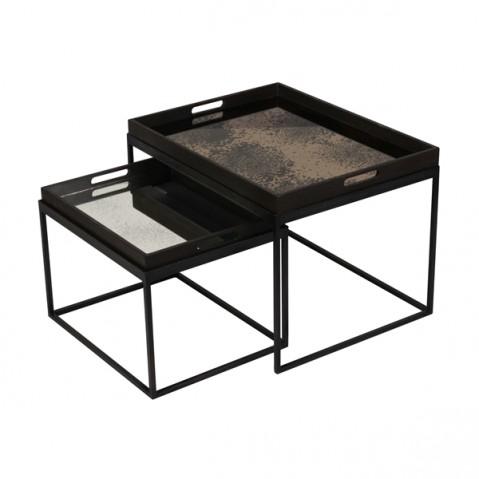 Set Rectangle Tray tables de Notre Monde