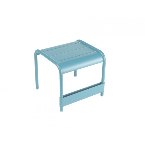 Repose-pieds LUXEMBOURG de Fermob bleu turquoise