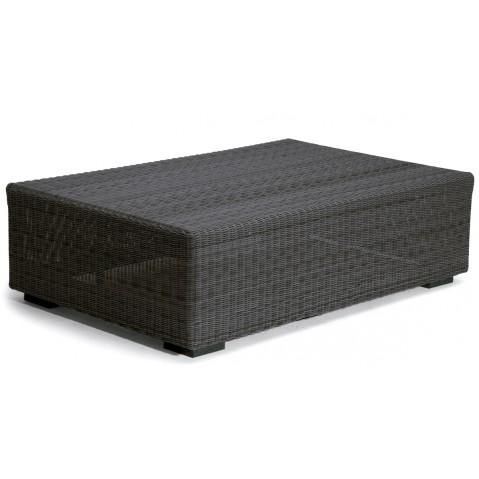 Repose-pieds/table basse MEDIUM ASPEN de Manutti noir