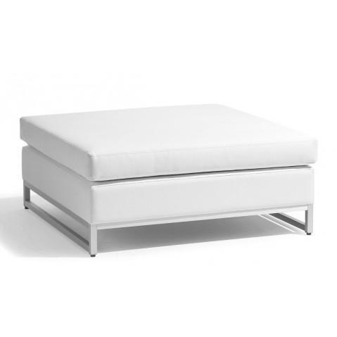 Repose-pieds/table basse moyen ZENDO de Manutti blanc
