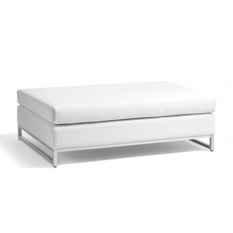 Grand Repose-pieds/table basse ZENDO de Manutti blanc