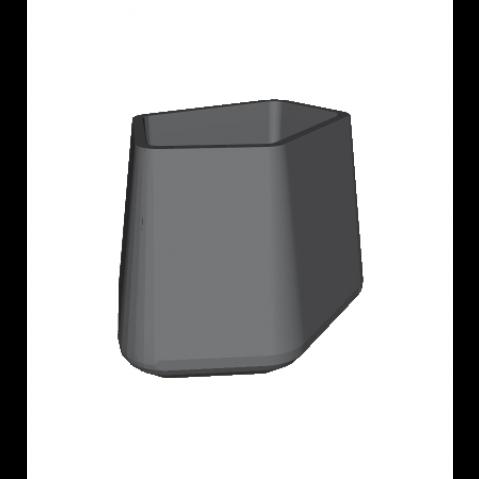 ROCK GARDEN Pot modulaire - MEDIUM Qui est Paul Gris Anthracite