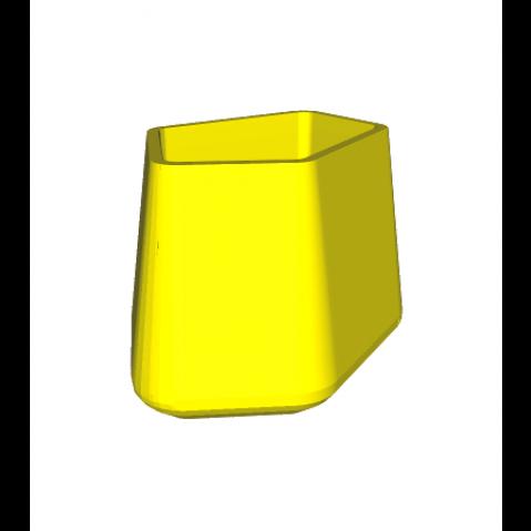 ROCK GARDEN Pot modulaire - MEDIUM Qui est Paul Jaune