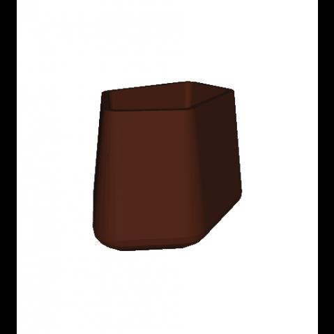 ROCK GARDEN Pot modulaire - SMALL Qui est Paul Chocolat