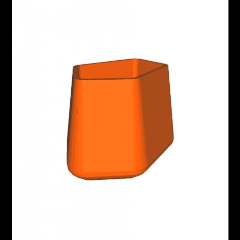 ROCK GARDEN Pot modulaire - SMALL Qui est Paul Orange