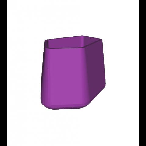 ROCK GARDEN Pot modulaire - SMALL Qui est Paul Violet