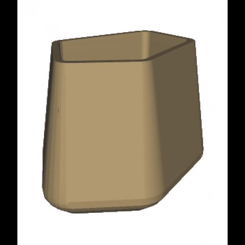 ROCK GARDEN Pot modulaire - TALL Qui est Paul Beige
