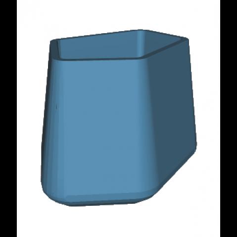 ROCK GARDEN Pot modulaire - TALL Qui est Paul Bleu