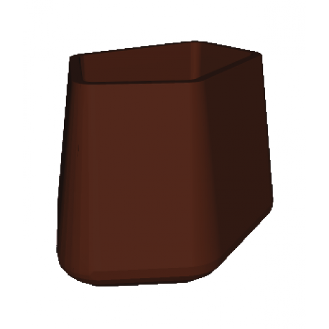 ROCK GARDEN Pot modulaire - TALL Qui est Paul Chocolat