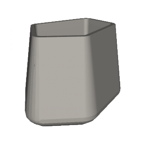 ROCK GARDEN Pot modulaire - TALL Qui est Paul Gris