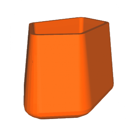 ROCK GARDEN Pot modulaire - TALL Qui est Paul Orange