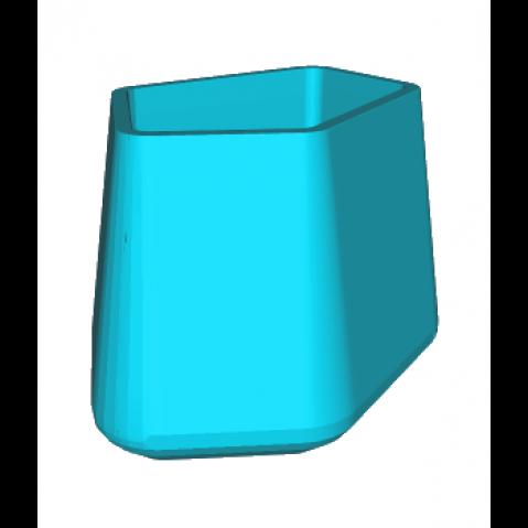 ROCK GARDEN Pot modulaire - TALL Qui est Paul Turquoise