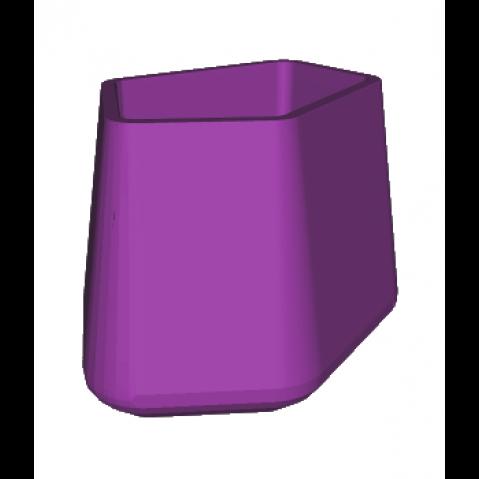 ROCK GARDEN Pot modulaire - TALL Qui est Paul Violet