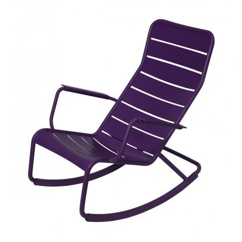 Rocking chair LUXEMBOURG de Fermob-Aubergine