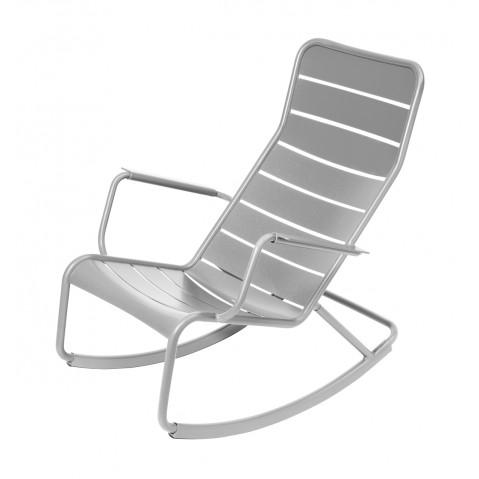 Rocking chair LUXEMBOURG de Fermob-Gris métal