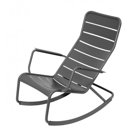 Rocking chair LUXEMBOURG de Fermob-Gris orage