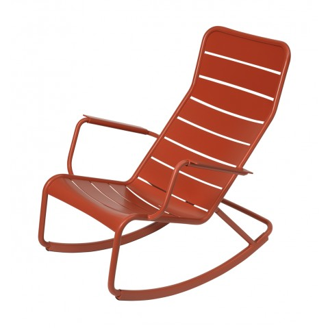 Rocking chair LUXEMBOURG de Fermob-Paprika