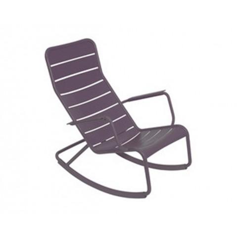 Rocking chair LUXEMBOURG de Fermob-Prune