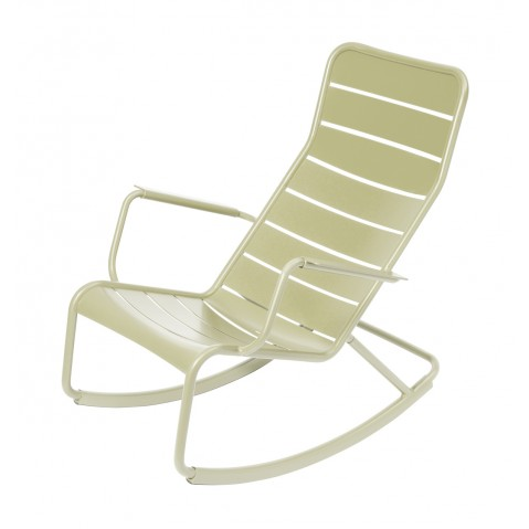 Rocking chair LUXEMBOURG de Fermob-Tilleul