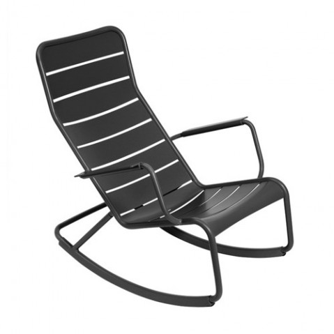 Rocking chair LUXEMBOURG de Fermob, Carbone