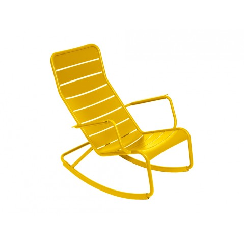 Rocking chair LUXEMBOURG de Fermob, Miel