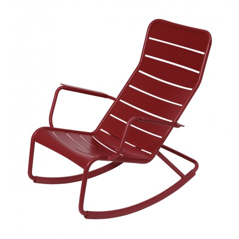 Rocking chair LUXEMBOURG de Fermob, Piment