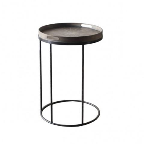 Round Tray Table de Notre Monde, Ø49