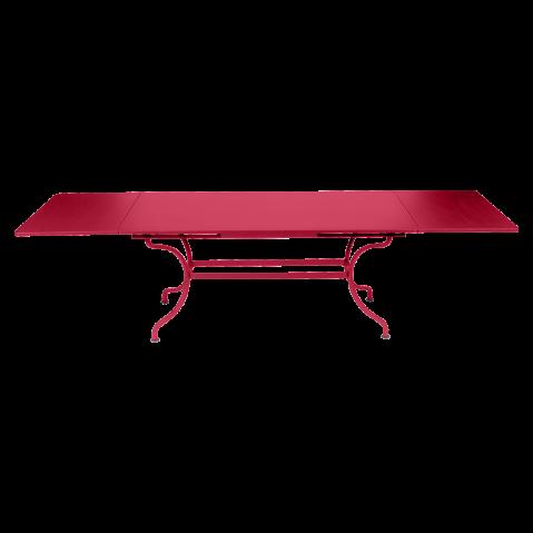 Table à allonges ROMANE Fermob, Rose praline