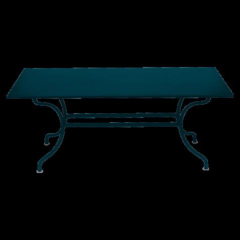 Table ROMANE 180 cm de Fermob, bleu acapulco